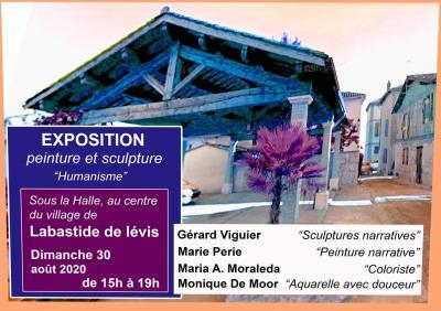 Exposition Halle du Moulin dimanche 30 août